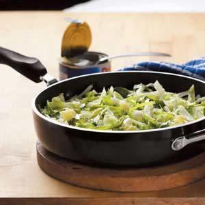 Pineapple Cabbage Saute