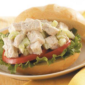Cucumber Chicken Salad Sandwiches