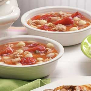 Turkey Pasta Soup