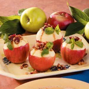 Berry-Stuffed Apples