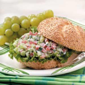 Crunchy Veggie Sandwiches