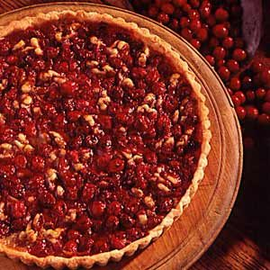 Cranberry Walnut Tart