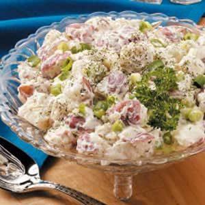 Potato Salad with Cucumbers