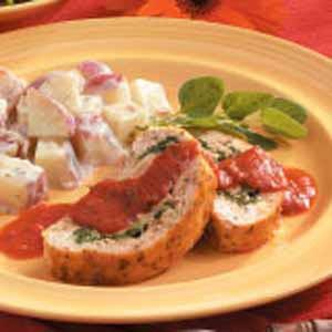 Spinach Turkey Roll