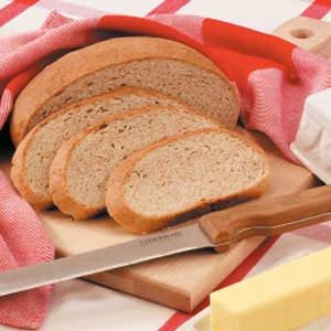 Round Whole Wheat Loaves