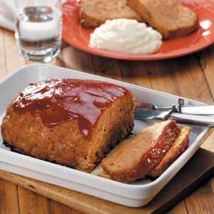 Turkey and Vegetable Meat Loaf