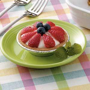 Fresh Fruit Tartlets