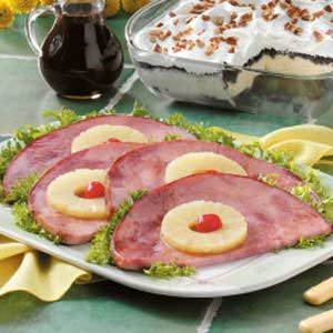 Glazed Ham Steaks