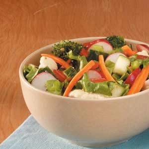 Super Veggie Tossed Salad