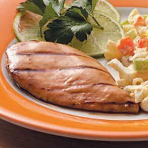 Orange-Mustard Grilled Chicken