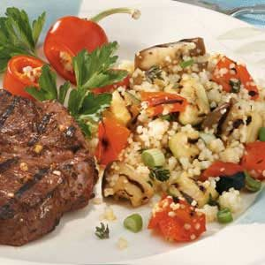 Couscous with Grilled Vegetables