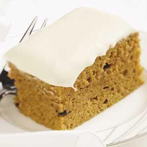 Makeover Pumpkin Cake