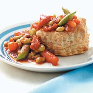 Vegetables in Puff Pastry