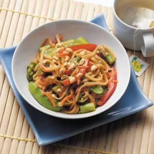 Thai Vegetable Noodles
