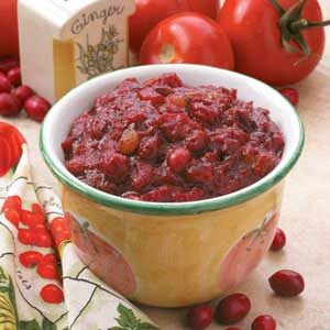 Cranberry Tomato Chutney