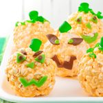 Popcorn Jack-o'-Lanterns