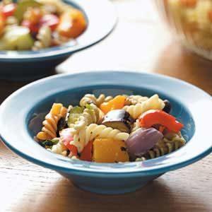 Roasted Veggie Pasta Salad