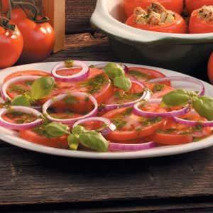 Easy Italian Tomato Salad