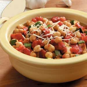 Garbanzo Bean Medley