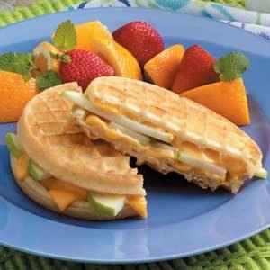 Apple Waffle Grills