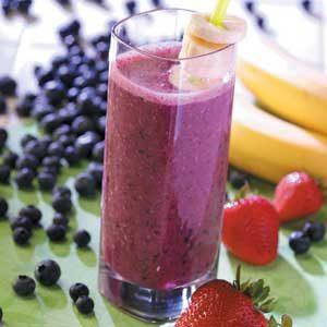 Banana Berry Drink