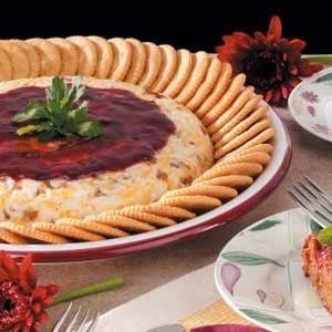 Raspberry Cheese Spread
