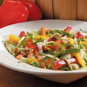 Healthy Colorful Coleslaw