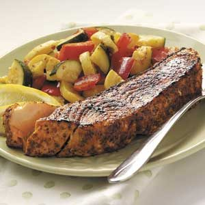Sauteed Spiced Salmon
