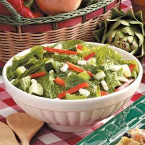 Greek Romaine Salad