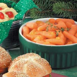 Peachy Carrots