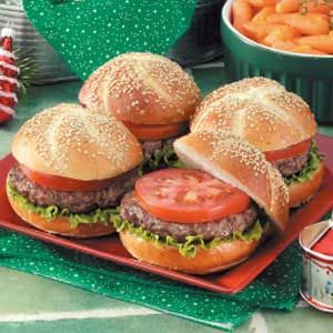 German-Style Hamburgers