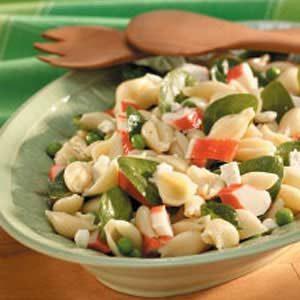 Pea 'n' Crab Pasta Salad