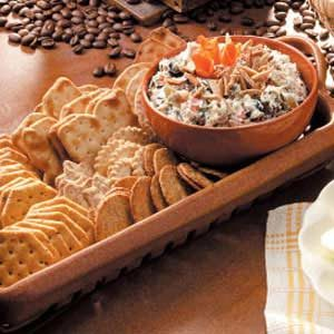 Olive-Rice Cheese Spread