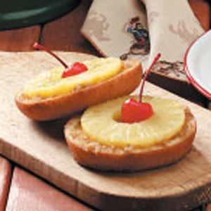 Pineapple Doughnut Dessert