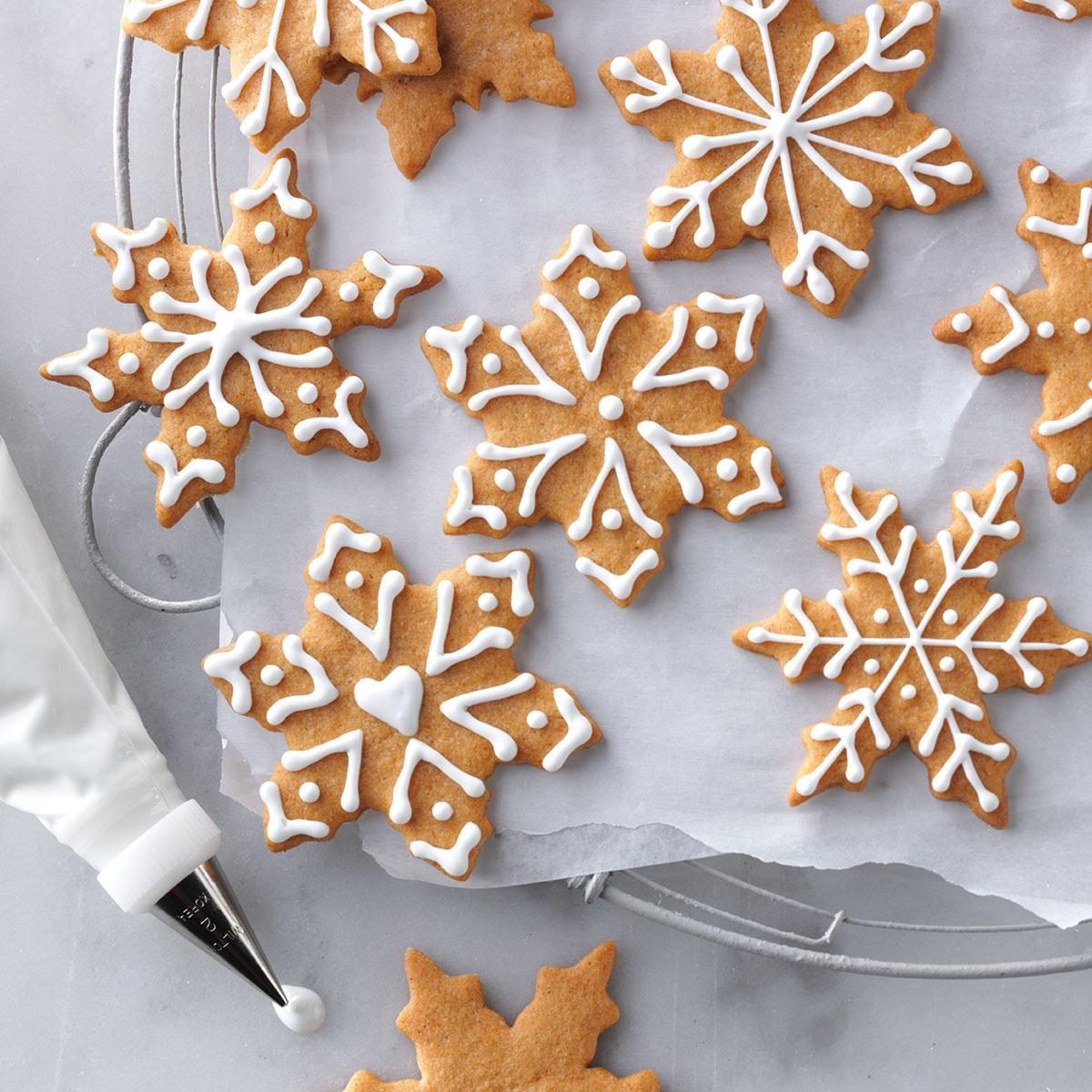 Butterscotch Gingerbread Cookies