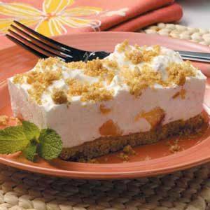 Peaches 'n' Cream Graham Dessert