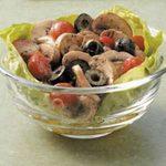 Simple Marinated Mushroom Salad