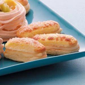 Ladyfinger Cream Sandwiches
