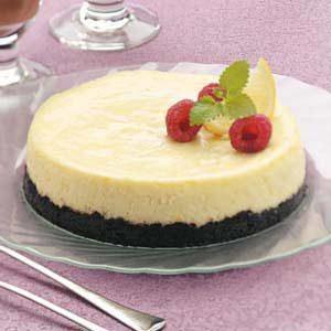Lemon Mousse Cheesecake