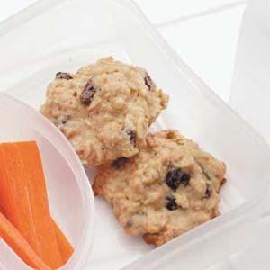 Oat Raisin Cookies