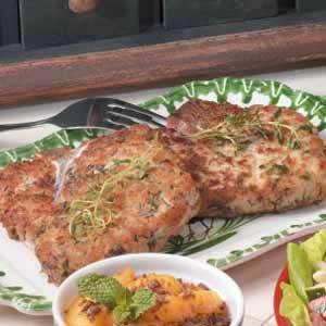 Thyme-Marinated Pork Chops