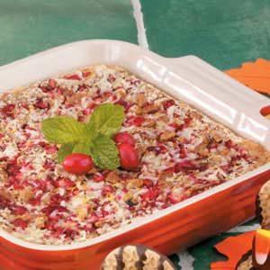 Cranberry Coconut Bars