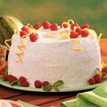 Raspberry Cream Torte