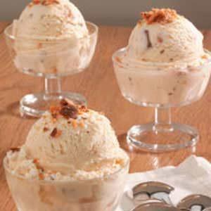 Creamy Candy Bar Ice Cream