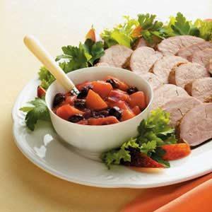 Plum Chutney with Pork