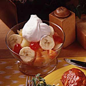 Fruit and Cream Dessert