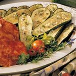 Broiled Zucchini with Rosemary Butter