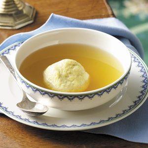 Flavorful Matzo Ball Soup