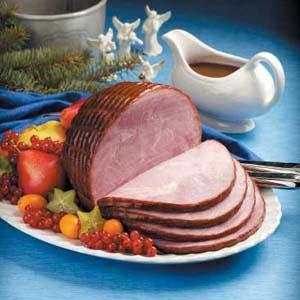 Holiday Glazed Ham