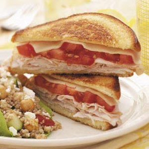 Grilled Cheese with Turkey